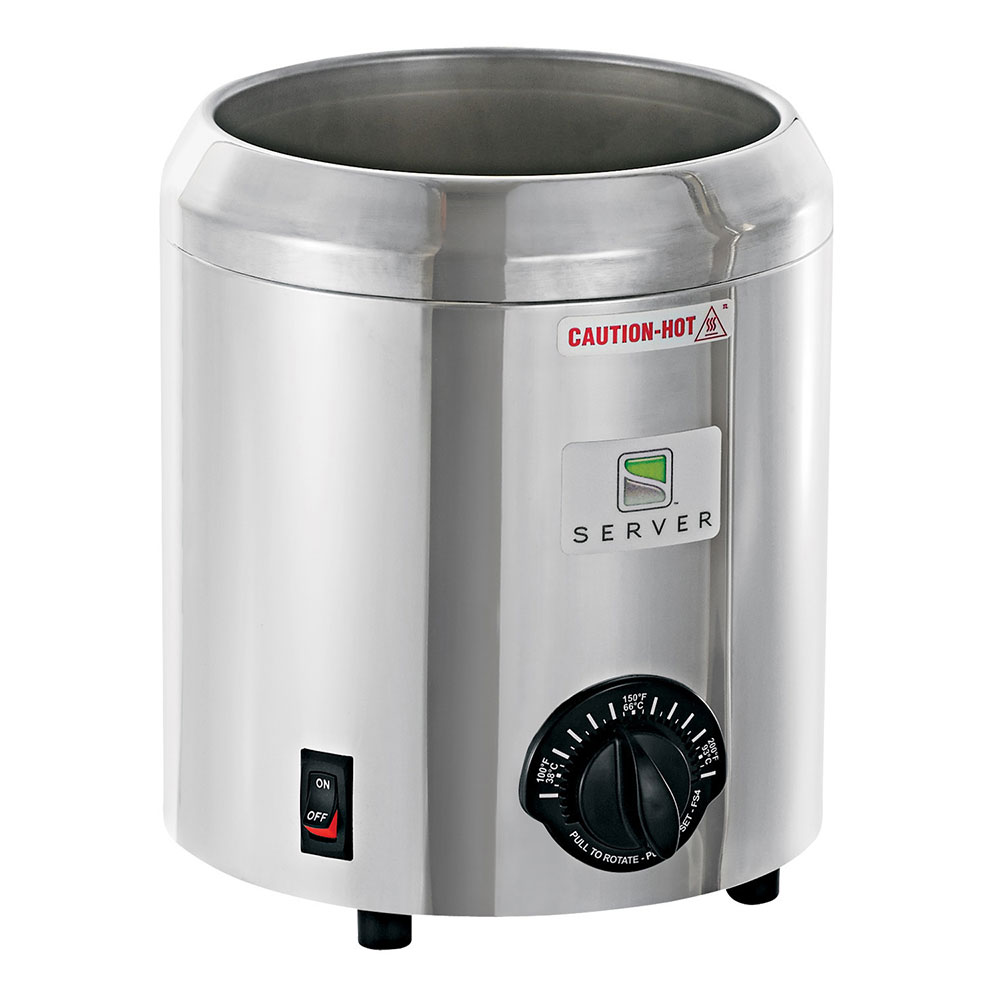 Server 80970 Food Server Base Only for FS-4, Thermostatically Controlled, SS, 120V, 500W