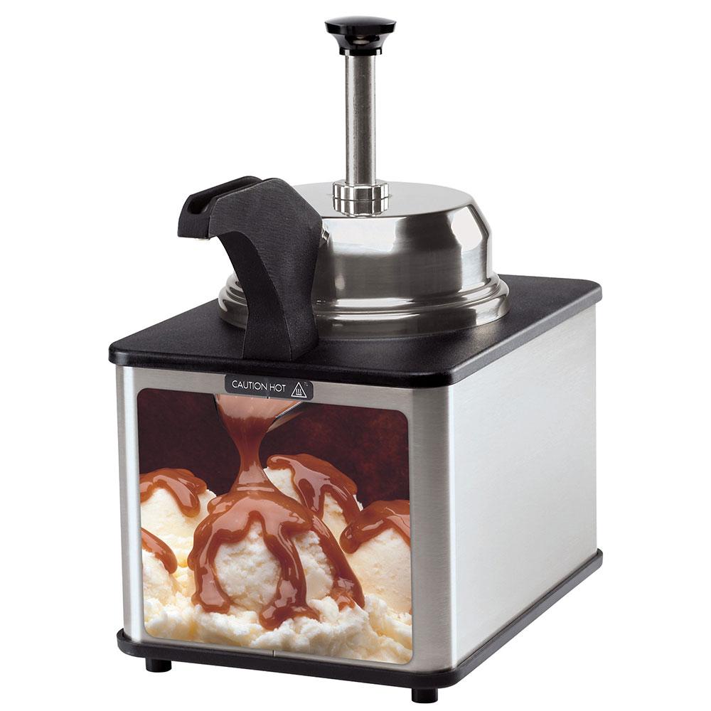 Server 81140 Food Server - Pump, Spout Warmer, For Remthermalization. 3-qt Stainless Steel Jar