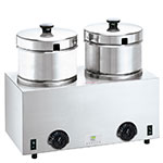 Server Products 81200 Food Server Warmer, (2) 5-qt Insets & Lids, 120 V