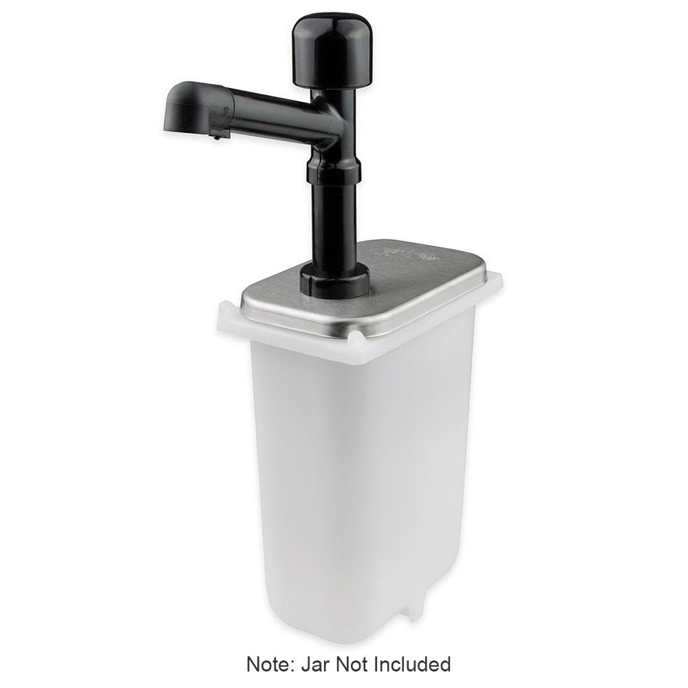 Server 81910 Condiment Dispenser Pump Only w/ 1-oz/Stroke Capacity, Polycarbonate