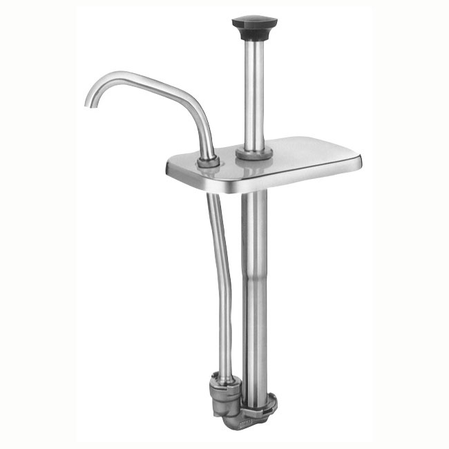 Server 82070 Condiment Syrup Pump Only w/ 1.25-oz/Stroke Capacity, Stainless