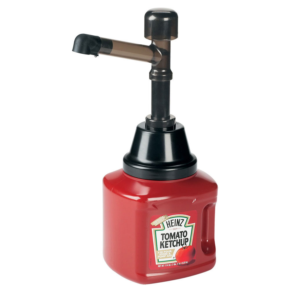 Server 82440 Condiment Pump for Heinz Pour Store w/ 1-oz/Stroke Capacity, Polycarbonate