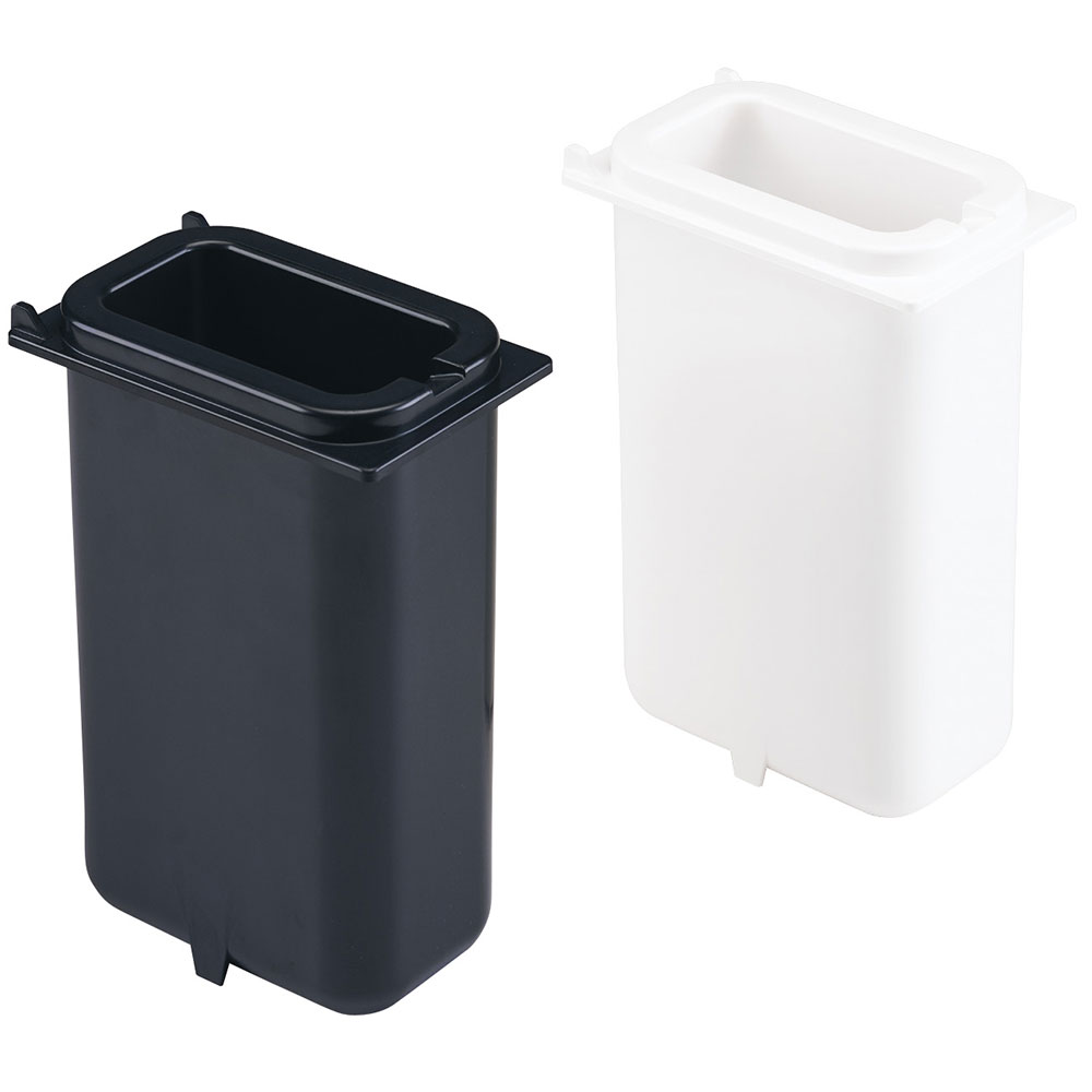 Server Products 82634 HOLDCOLD Fountain Jar, 2-1/4 quart, 10 in Deep, 1 White & 1 Black Jars