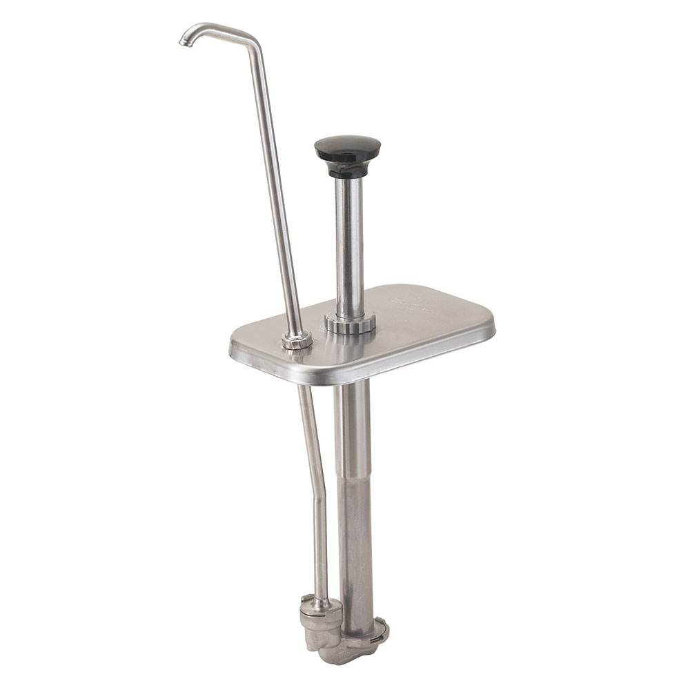 Server 82990 Condiment Syrup Pump w/ 1.25-oz/Stroke Capacity, Stainless