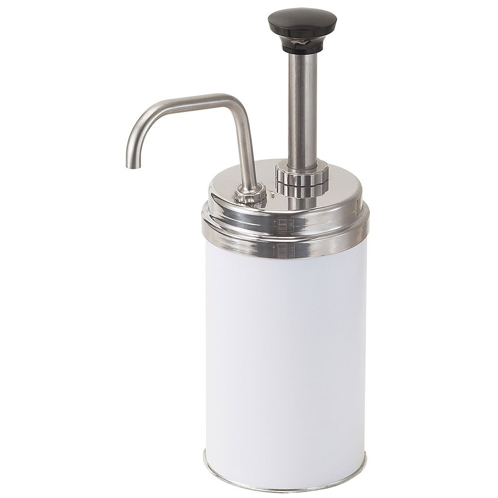 Server Products 83020 CP-3 Condiment Pump, for # 5, Gauging Collars, Increments to 1 oz, SS Pump, NSF