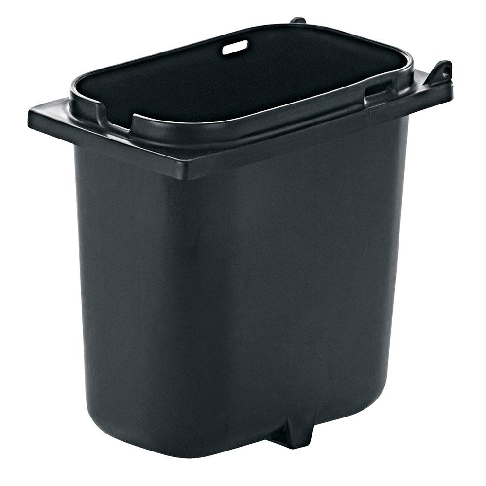 Server 83147 2-qt Fountain Jar w/ Notch for Ladle, Polypropylene, Black