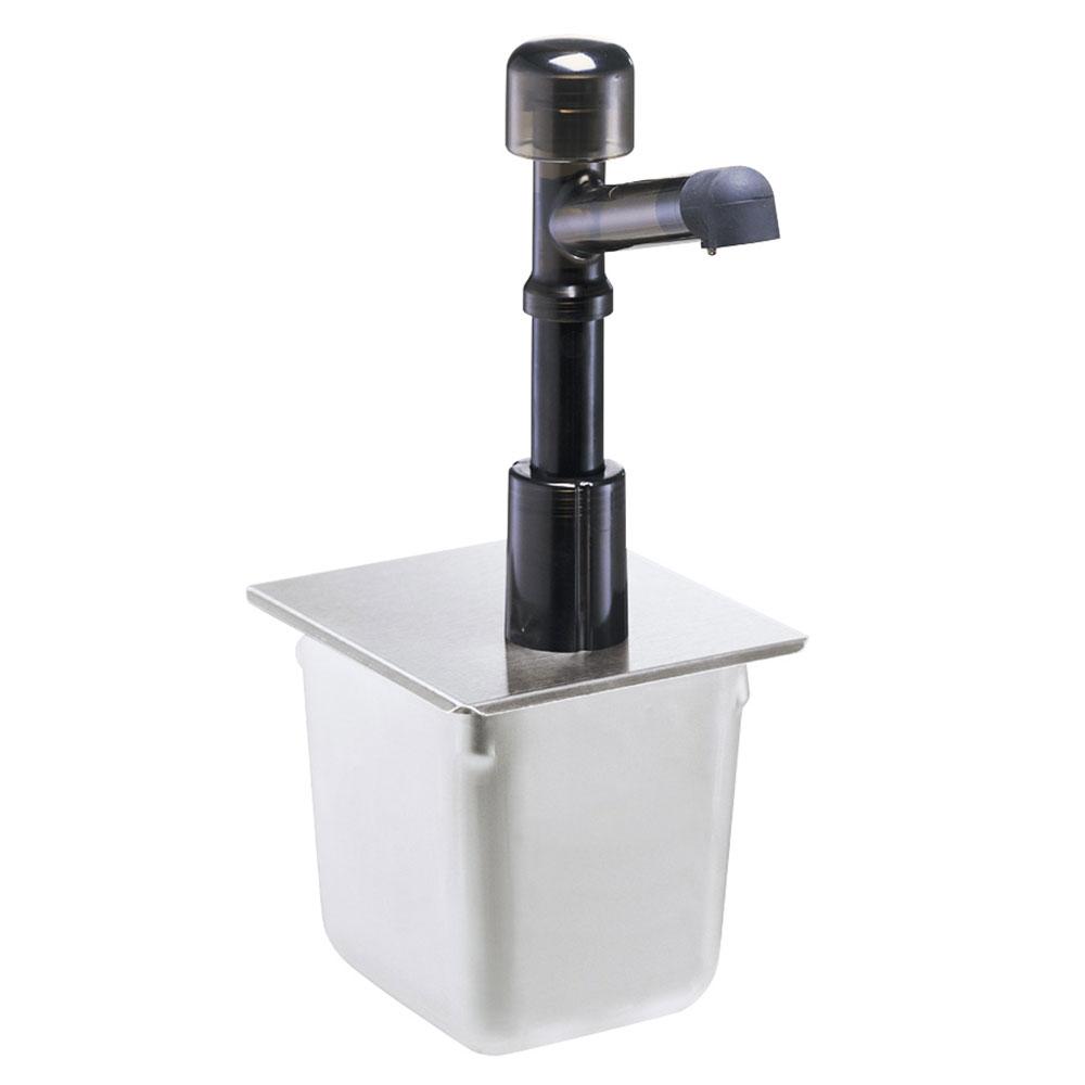 Server 83190 Condiment Syrup Pump w/ 1-oz/Stroke Capacity, Polycarbonate