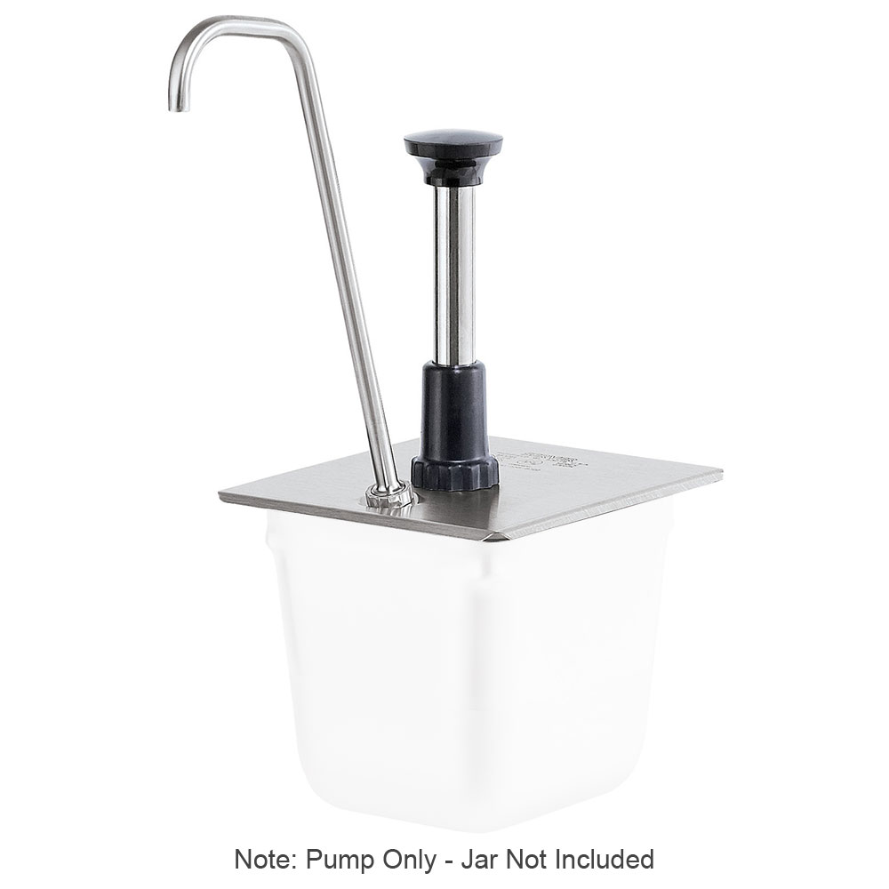 Server 83437 Condiment Syrup Pump Only w/ 1-oz/Stroke Capacity, Stainless