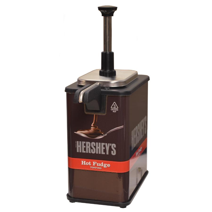 Server 84967 Hershey's Hot Fudge EZ-Topper Warmer w/ 1-oz...