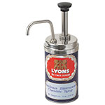 Server 85320 Condiment Syrup Pump Only w/ 1-oz/Stroke Capacity, Stainless