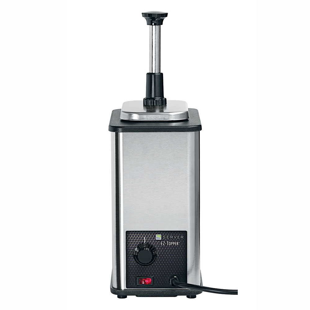 Server 85790 Pump Style Condiment Dispenser w/ (1) 1-oz/Stroke, Stainless