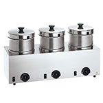 Server Products 85900 Food Server Warmer w/ (3) 4-qt Insets & Lids, 120 V