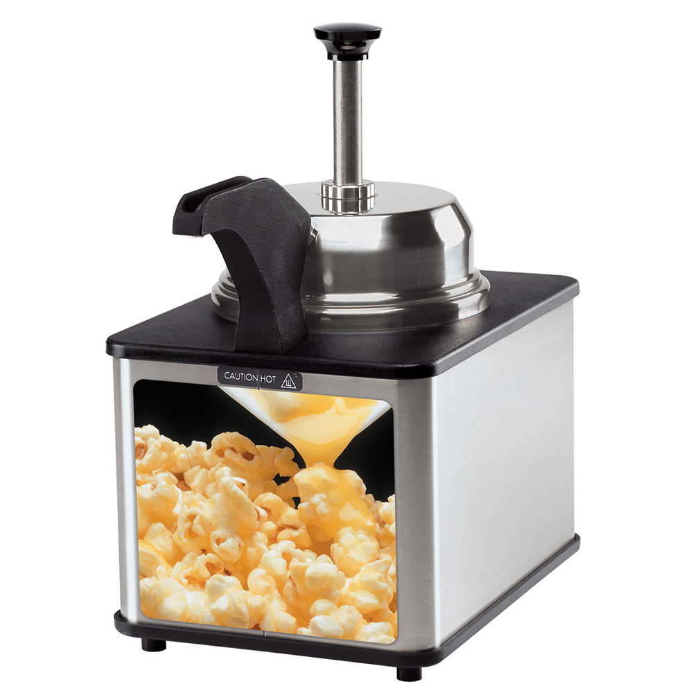 Server 86540 Supreme Butter Server, Heated Pump w/ Spout, Front, 3 qt, 120 V