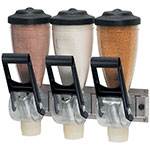 Server 86650 Dry Product Dispenser, (3) 1 liter, Wall  Mount