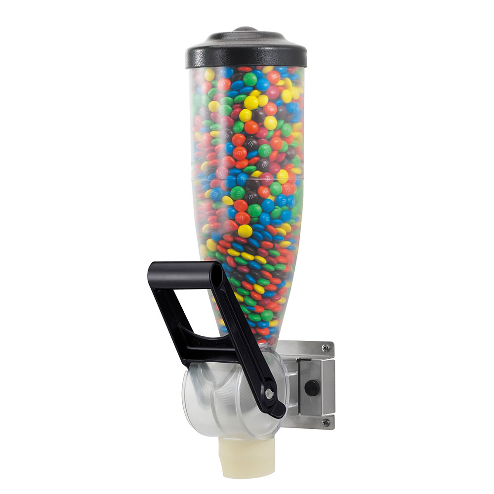 Server 86680 Dry Product Dispenser, Single, (1) 2 liter, Wall  Mount