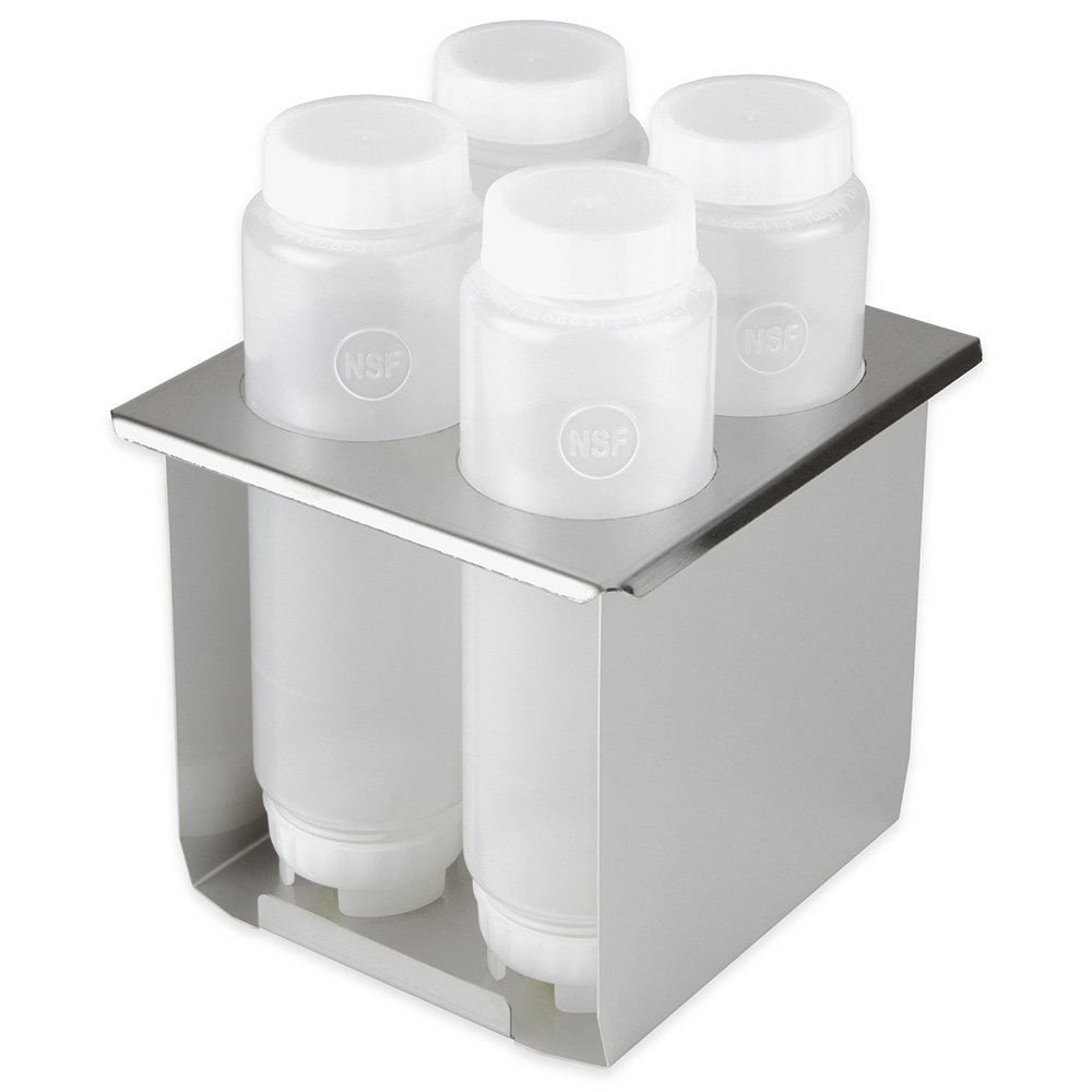 Server 86995 Squeeze Bottle Holder for (4) 16-oz Squeeze Bottles