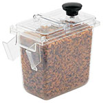 Server 87199 Wall Mount .1-Size Jar w/ 1.9-qt Capacity, Clear
