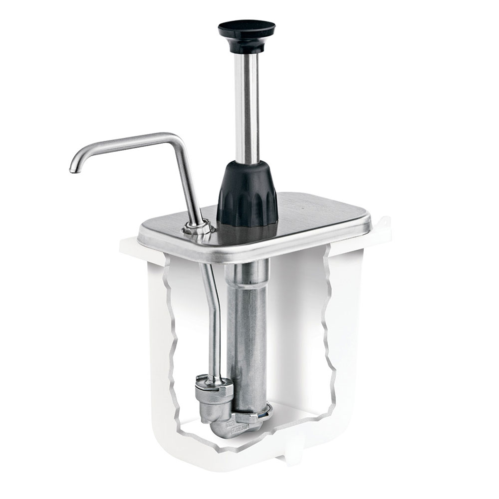 Server 87610 Condiment Syrup Pump Only w/ 2-oz/Stroke Capacity, Stainless