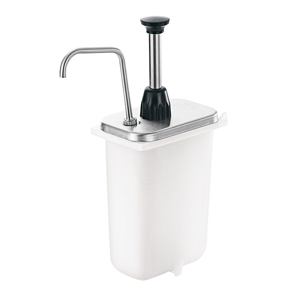 Server 87660 Condiment Syrup Pump Only w/ 2-oz/Stroke Capacity, Stainless