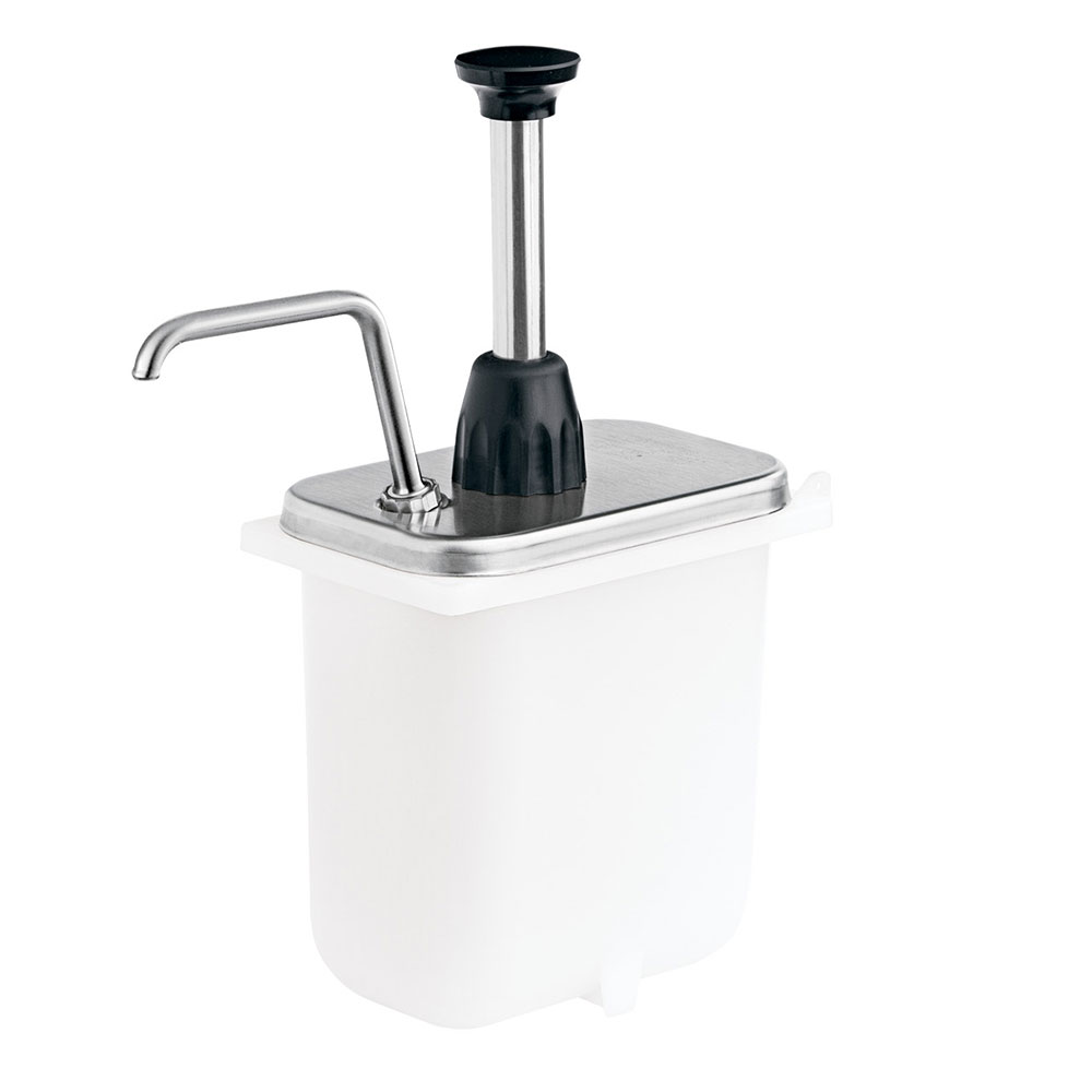 Server 87670 Condiment Syrup Pump Only w/ 2-oz/Stroke Capacity, Stainless