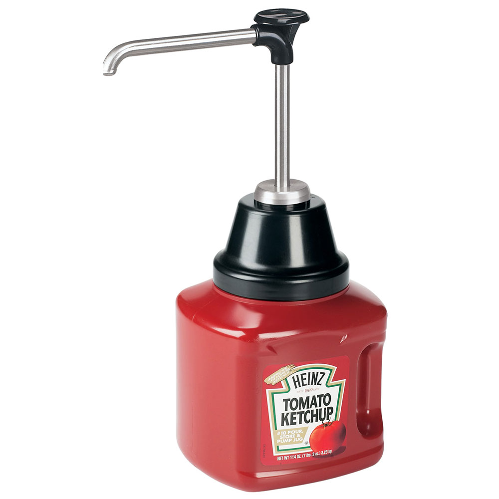 Server Products 88010 Bottle Pump, Fits Heinz Pour Store & Pump Jar, SS, NSF