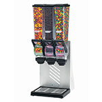 Server 88770 Dry Product Dispenser, Triple, (3) 2 Liter, Wall Mount