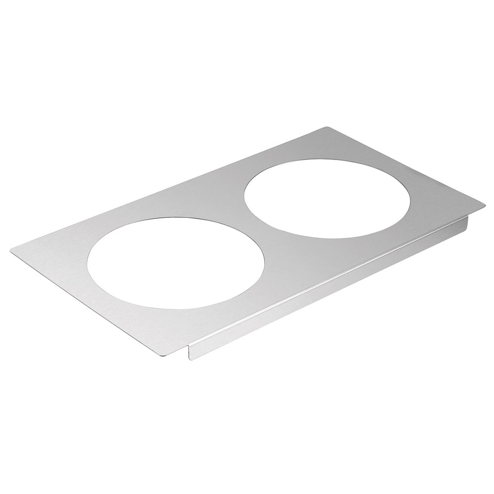 "Server 90195 Adapter Plate, with (2) 8-1/2"" Inset Holes"