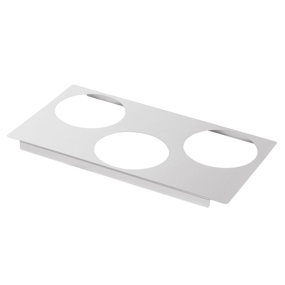 Server 90197 Adapter Plate, w/ (3) 6-1/2 in Inset Holes