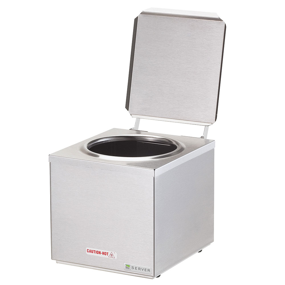 Server Products 92000 Single Dip Server, Cone Dip Warmer, SS, Countertop, 120 V