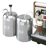 Server 94000 Insulated Chilled Condiment Server w/ 1-oz Yield Pump & 3-qt Jar, Stainless