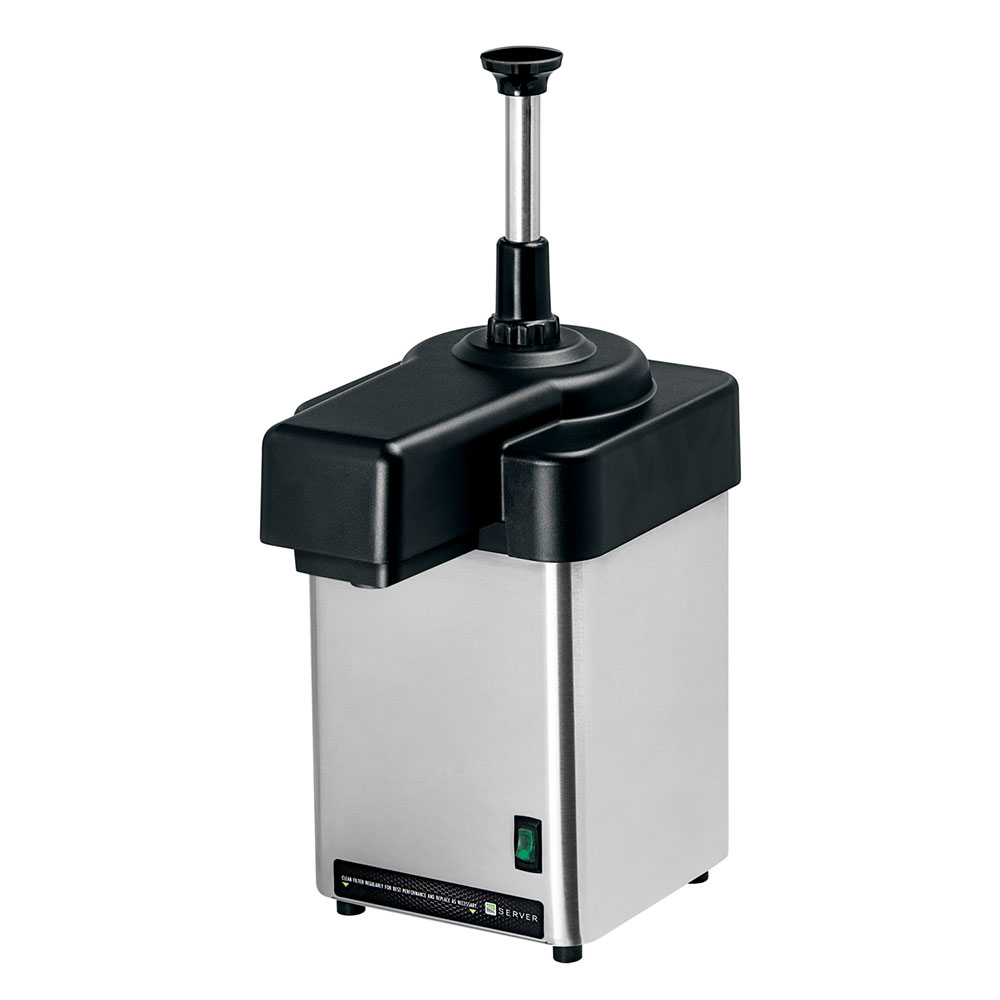 Server 94060 1-qt Chilled Food Dispenser - Stainless