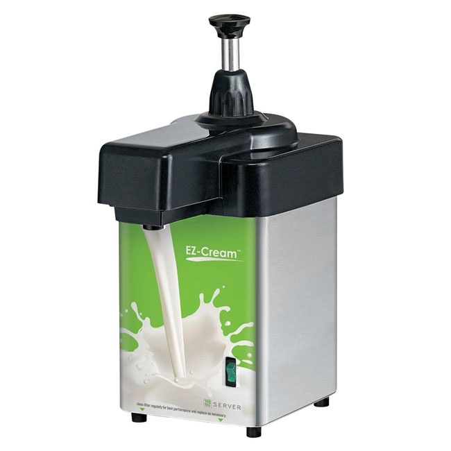 Server Products 94160 2-qt Dairy Dispenser - Stainless