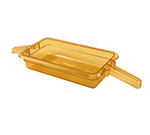 Prince Castle 155695N-12 Amber Pans Dual-Handle for MenuTrak DHB