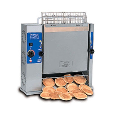 Prince Castle 297-T20 Vertical Toaster - 1400-Slices/hr w/ 2-Side Toasting, 120v