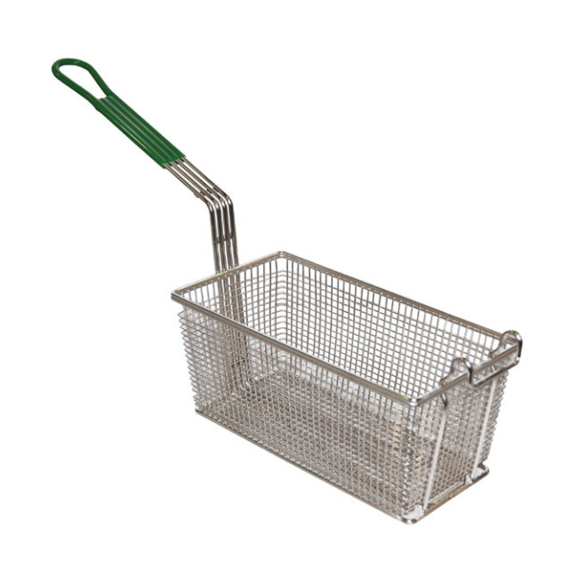 Prince Castle 676-14P Half Size Fryer Basket, Nickel Plated