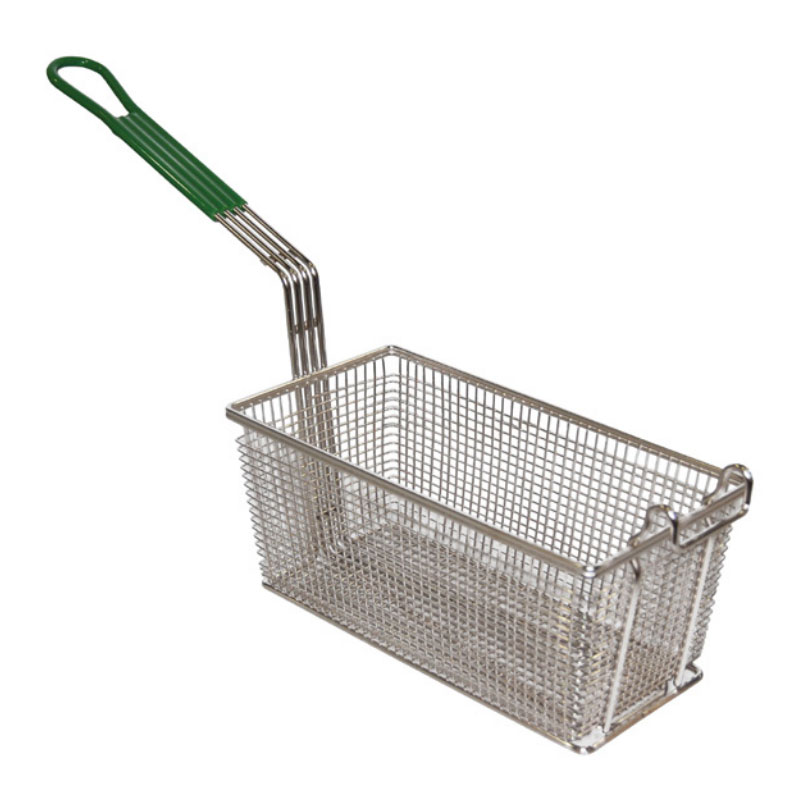 Prince Castle 678-P Half Size Fryer Basket, Nickle Plated