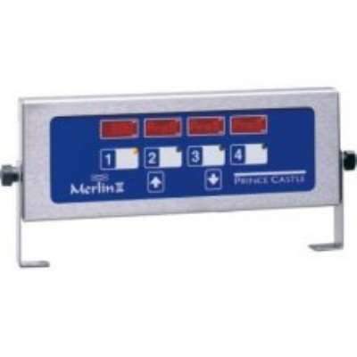 Prince Castle 740-T44H 4-Channel Multi-Display Horinzontal Electric Timer, Bold LCD Readout
