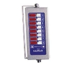 Prince Castle 740-T88 8-Channel Multi-Display Electric Timer, Bold LCD Readout
