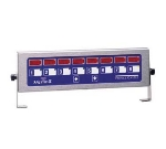 Prince Castle 740-T88H 8-Channel Multi-Display Horitzonal Electric Timer, Bold LCD Readout