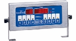 Prince Castle 741T4 4-Channel Electric Timer, Single Display,  6-ft Cord, 120 V