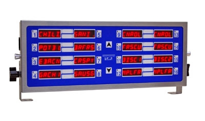 Prince Castle 755-HM16 Electric Horizontal Timer, 16-Channel, Multi-Function