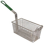 Prince Castle 77-P Half Size Fryer Basket, Nickel Plated