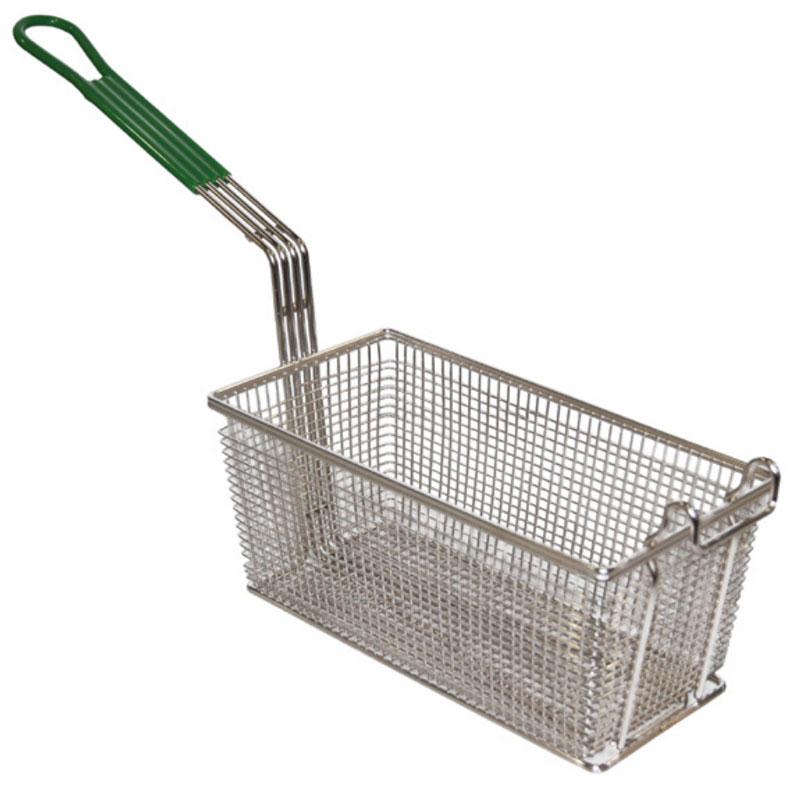Prince Castle 77-P Half Size Fryer Basket, Nickle Plated
