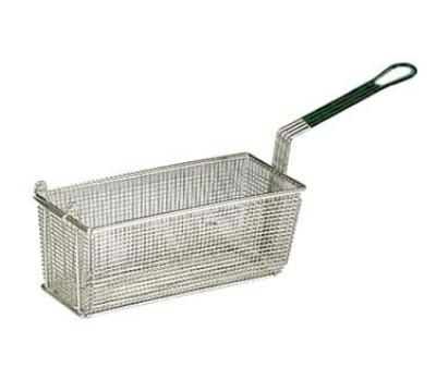 Prince Castle 78-P Nickel Plated Wire Mesh 12-1/8 in x 6-5/16 x 5-5/16, Plastisol Handle