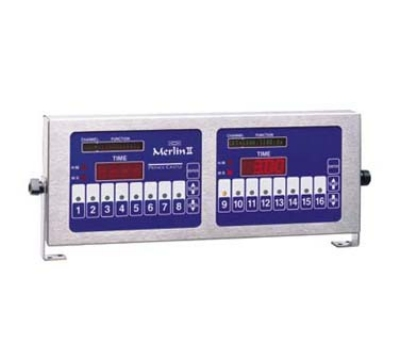 Prince Castle 840-T16D 16-Channel Double Multi-Function Electric Timer, Bold LCD Readout