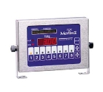 Prince Castle 840-T8 8-Channel Multi-Display Horizontal Electric Timer, Bold LCD Readout