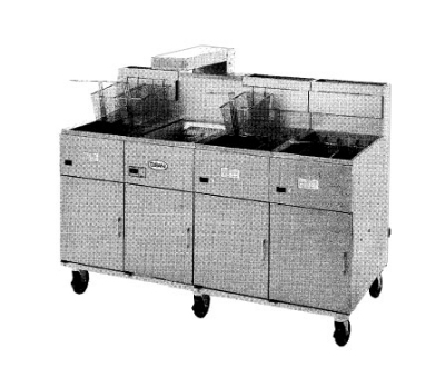 "Frymaster 20MC 2401 Food Warmer / Holding Station / Fryer Spreader Cabinet, 20""W, 240/1"