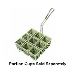 Frymaster 803-0155 Pasta Portion Cup Rack for 8SMS, 8BC & 8C Cookers, 9-Cup Capacity