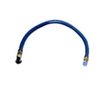"Frymaster / Dean 8061700 48"" Gas Connector Hose w/ 3/4"" Female/Male Couplings"