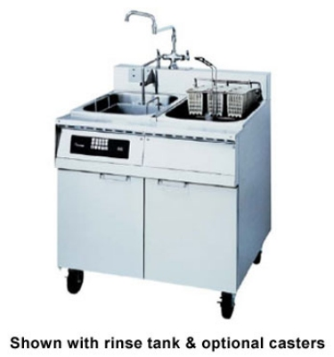 Frymaster / Dean 8BC 2401 Single Tank Pasta Cooker, Faucet, Basket Lift, Stainless, 8 Kw, 240/1